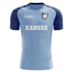 2019-2020 Kansas Home Concept Football Shirt