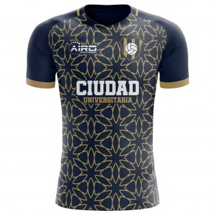 2020-2021 Pumas Away Concept Football Shirt