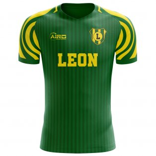2020-2021 Club Leon Home Concept Football Shirt - Kids