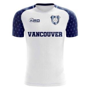 2019-2020 Vancouver Home Concept Football Shirt