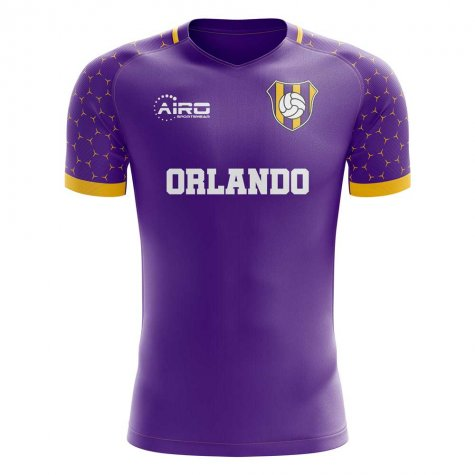 2019-2020 Orlando Home Concept Football Shirt