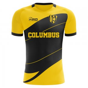 2020-2021 Columbus Home Concept Football Shirt - Kids