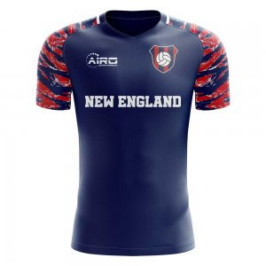 2019-2020 New England Home Concept Football Shirt - Little Boys