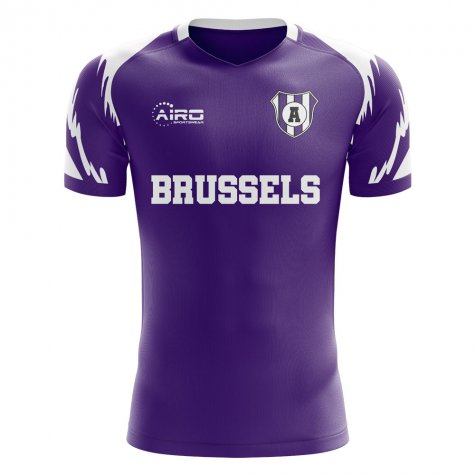 2019-2020 Anderlecht Home Concept Football Shirt - Womens