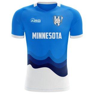2020-2021 Minnesota Home Concept Football Shirt