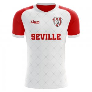 2020-2021 Seville Home Concept Football Shirt - Womens