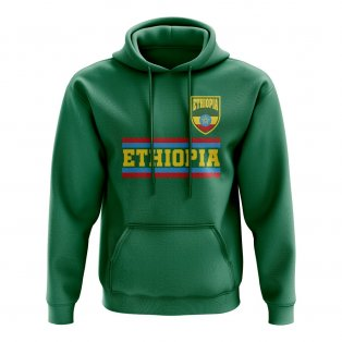 Ethiopia Core Football Country Hoody (Green)