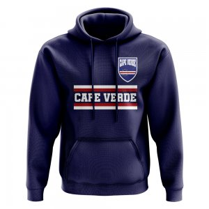 Cape Verde Core Football Country Hoody (Navy)