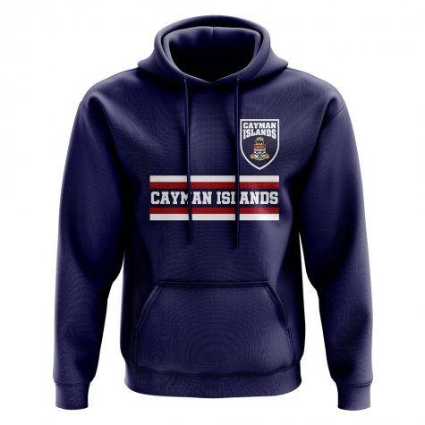 Cayman Islands Core Football Country Hoody (Navy)