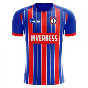 2020-2021 Inverness Home Concept Football Shirt