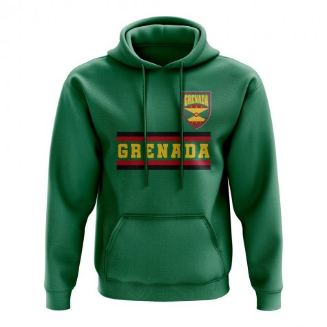 Grenada Core Football Country Hoody (Green)