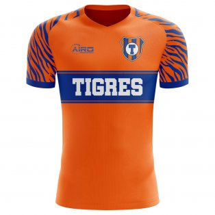 2019-2020 Tigres Home Concept Football Shirt