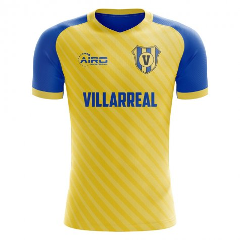 2020-2021 Villarreal Home Concept Football Shirt - Little Boys