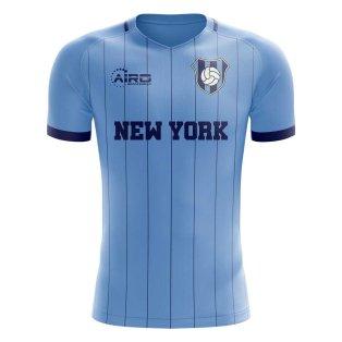 2019-2020 New York City Home Concept Football Shirt