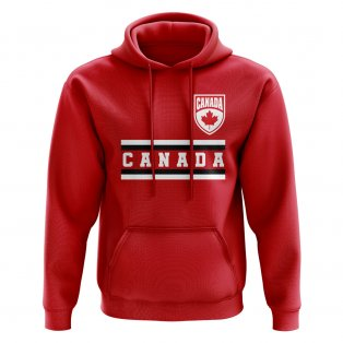 Canada Core Football Country Hoody (Red)