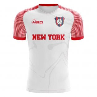 ccf175834 2019-2020 New York Home Concept Football Shirt