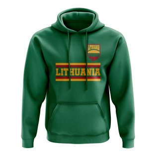 Lithuania Core Football Country Hoody (Green)