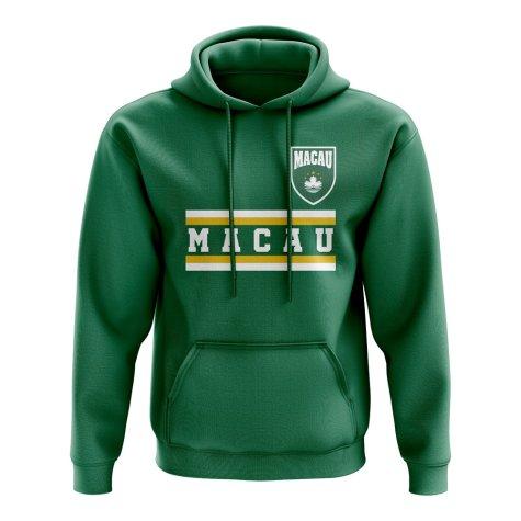 Macau Core Football Country Hoody (Green)
