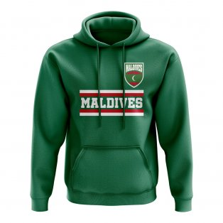 Maldives Core Football Country Hoody (Green)