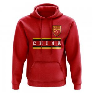 China Core Football Country Hoody (Red)