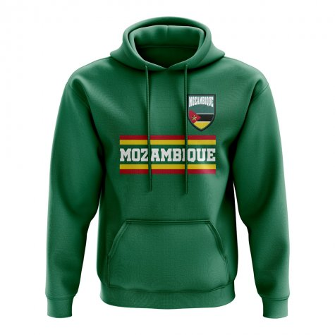 Mozambique Core Football Country Hoody (Green)