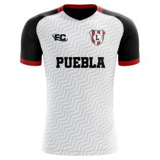 2019-2020 Lobos BUAP Home Concept Football Shirt