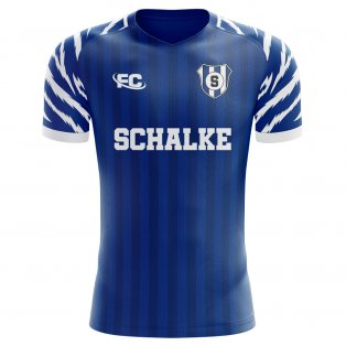 2019-2020 Schalke Fans Culture Home Concept Shirt