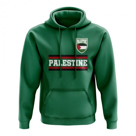 Palestine Core Football Country Hoody (Green)
