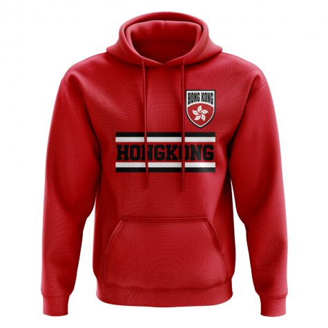 Hong Kong Core Football Country Hoody (Red)