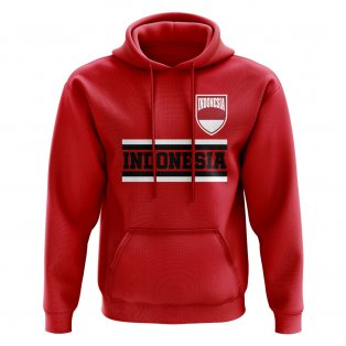 Indonesia Core Football Country Hoody (Red)