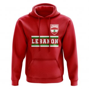 Lebanon Core Football Country Hoody (Red)
