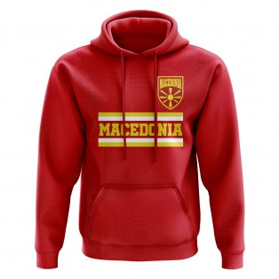 Macedonia Core Football Country Hoody (Red)