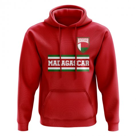 Madagascar Core Football Country Hoody (Red)
