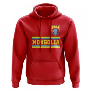 Mongolia Core Football Country Hoody (Red)