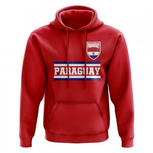 Paraguay Core Football Country Hoody (Red)