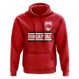 Singapore Core Football Country Hoody (Red)