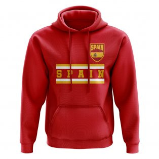 Spain Core Football Country Hoody (Red)