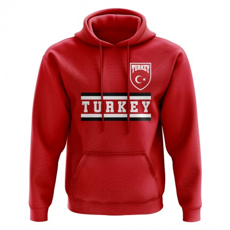Turkey Core Football Country Hoody (Red)