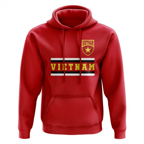 Vietnam Core Football Country Hoody (Red)