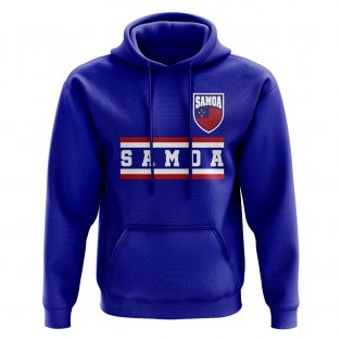 Samoa Core Football Country Hoody (Royal)