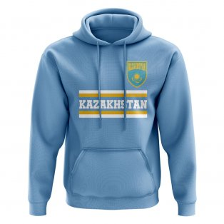 Kazakhstan Core Football Country Hoody (Sky)