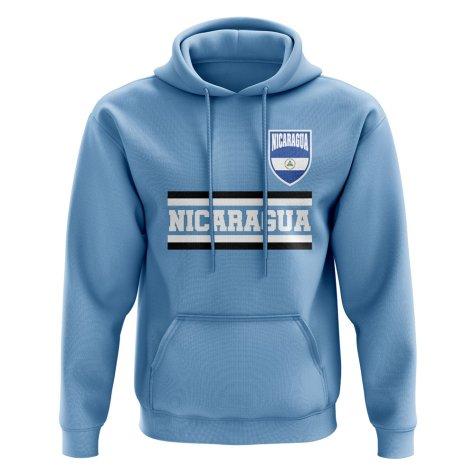 Nicaragua Core Football Country Hoody (Sky)