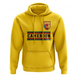 Cameroon Core Football Country Hoody (Yellow)