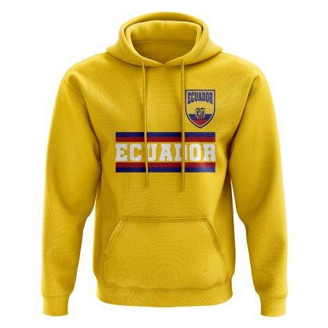 Ecuador Core Football Country Hoody (Yellow)