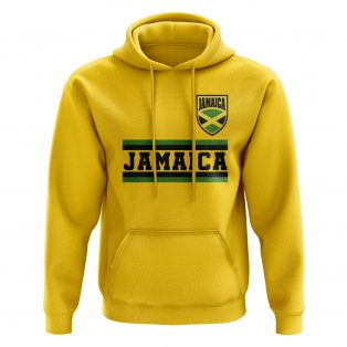 Jamaica Core Football Country Hoody (Yellow)