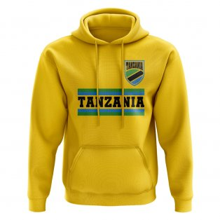 Tanzania Core Football Country Hoody (Yellow)