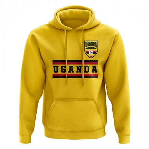 Uganda Core Football Country Hoody (Yellow)