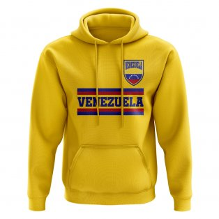 Venezuela Core Football Country Hoody (Yellow)