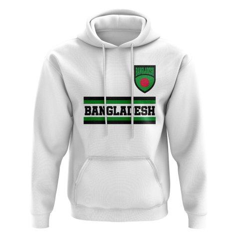 Bangladesh Core Football Country Hoody (White)