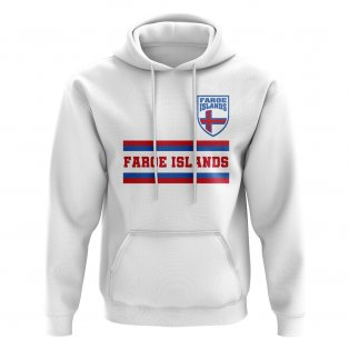 Faroe Islands Core Football Country Hoody (White)